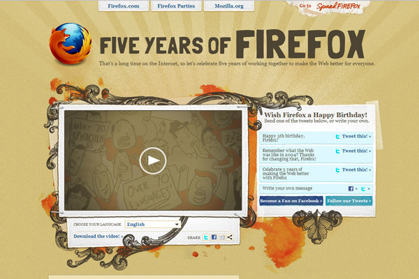 Five Yearsof Firefox