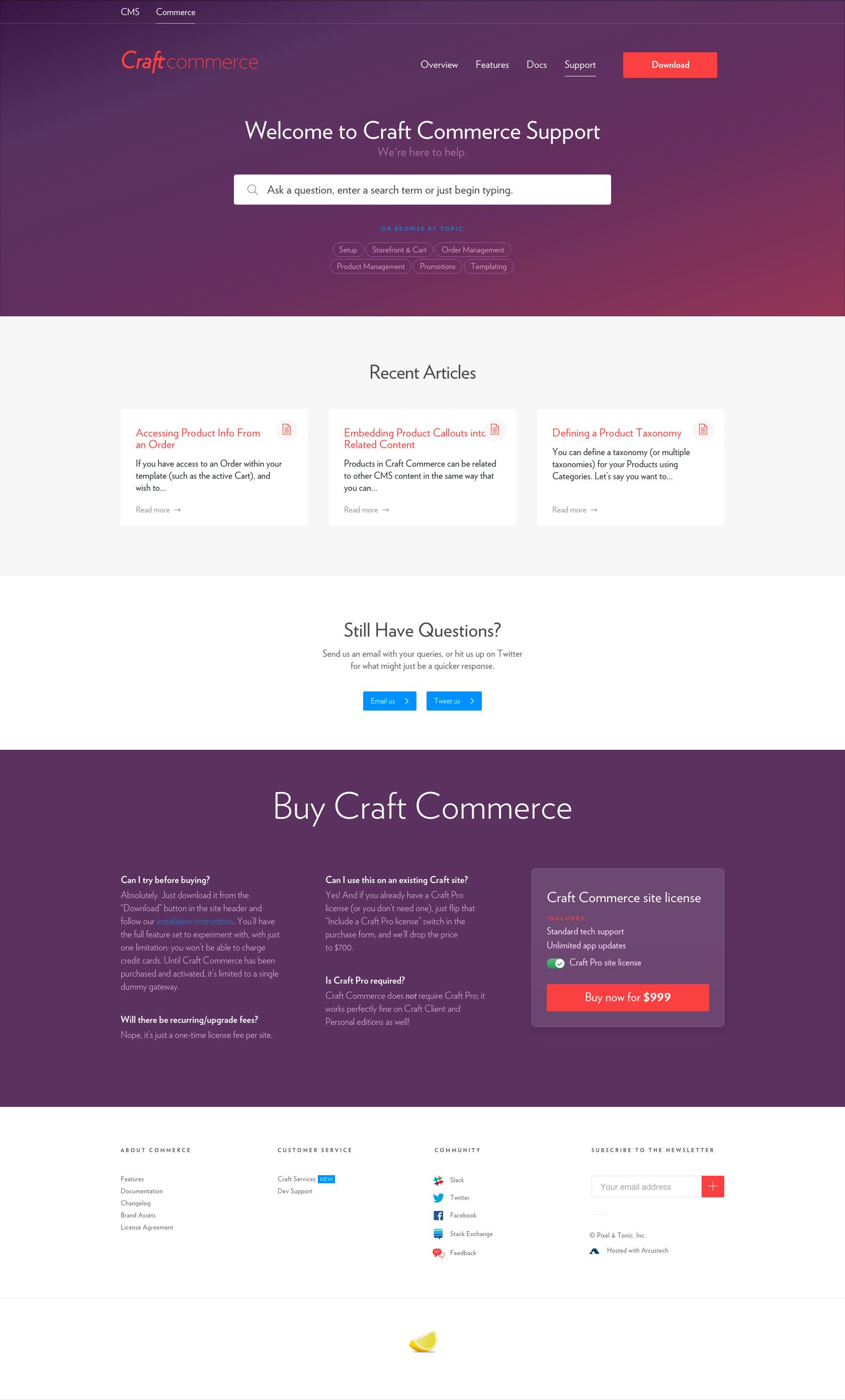 Craft Commerce 04