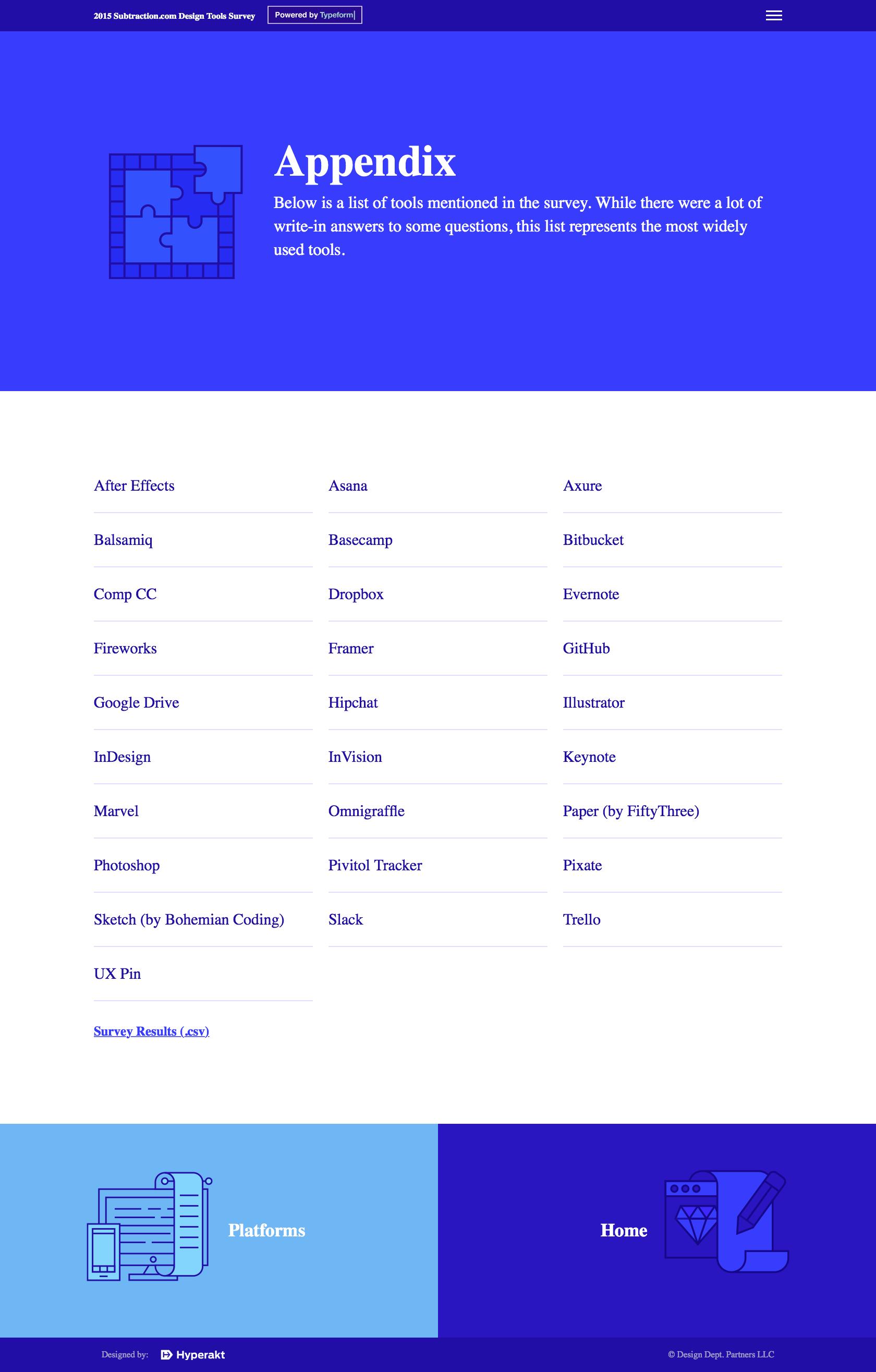 Designer Tools 11