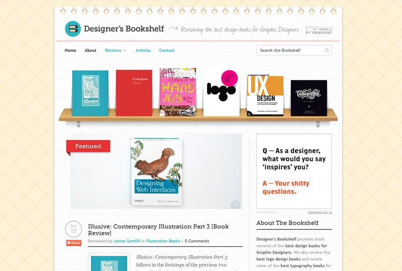 Designersbookshelf