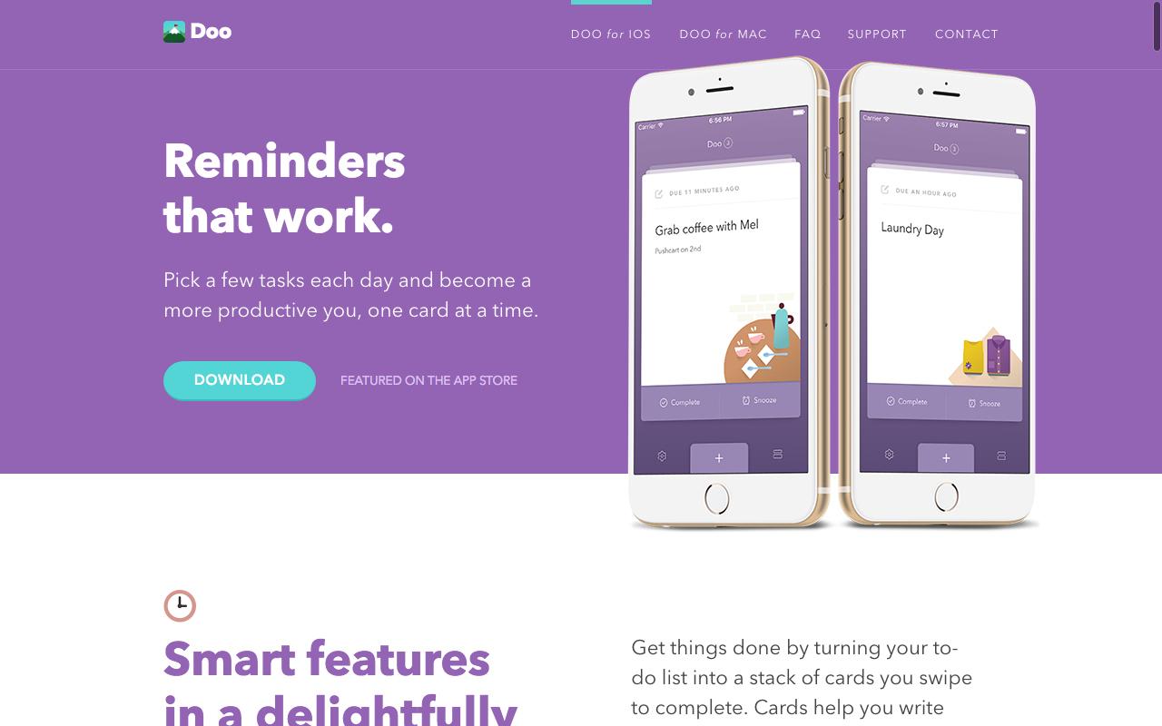 Doo App Preview