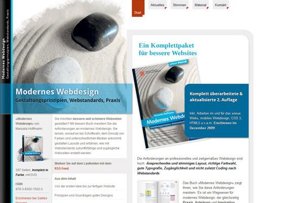 Einfach Modernes Webdesign