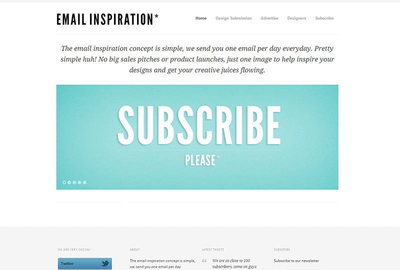 Emailinspiration