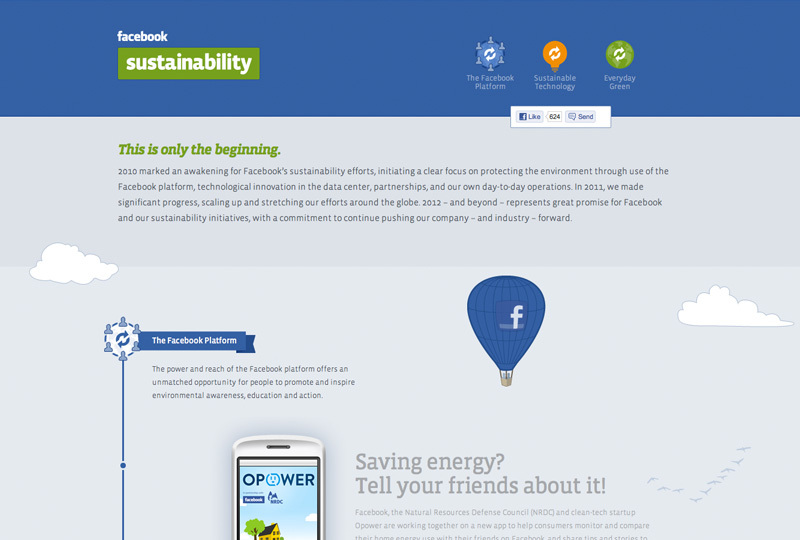 Facebook Sustainability
