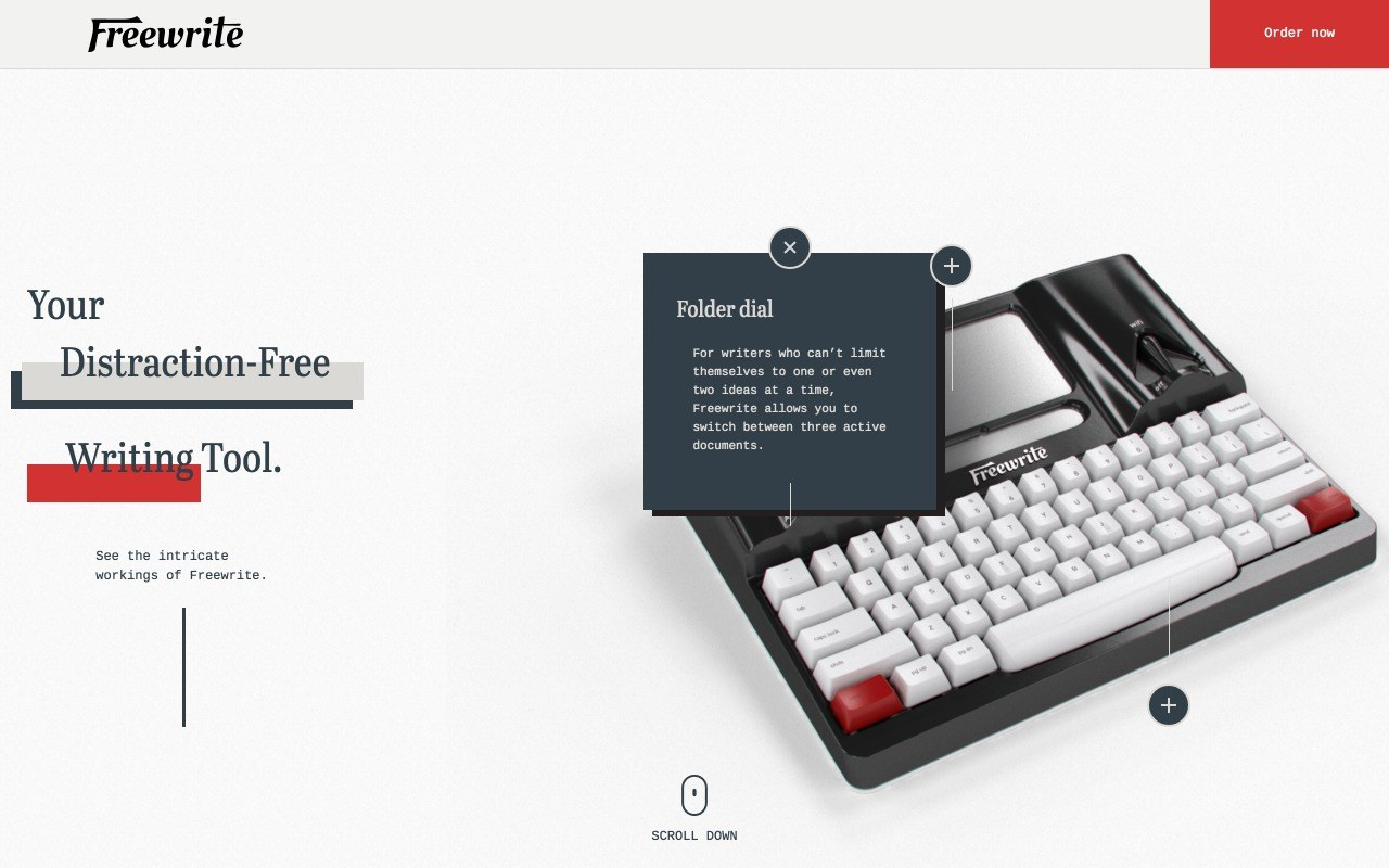 Freewrite Preview