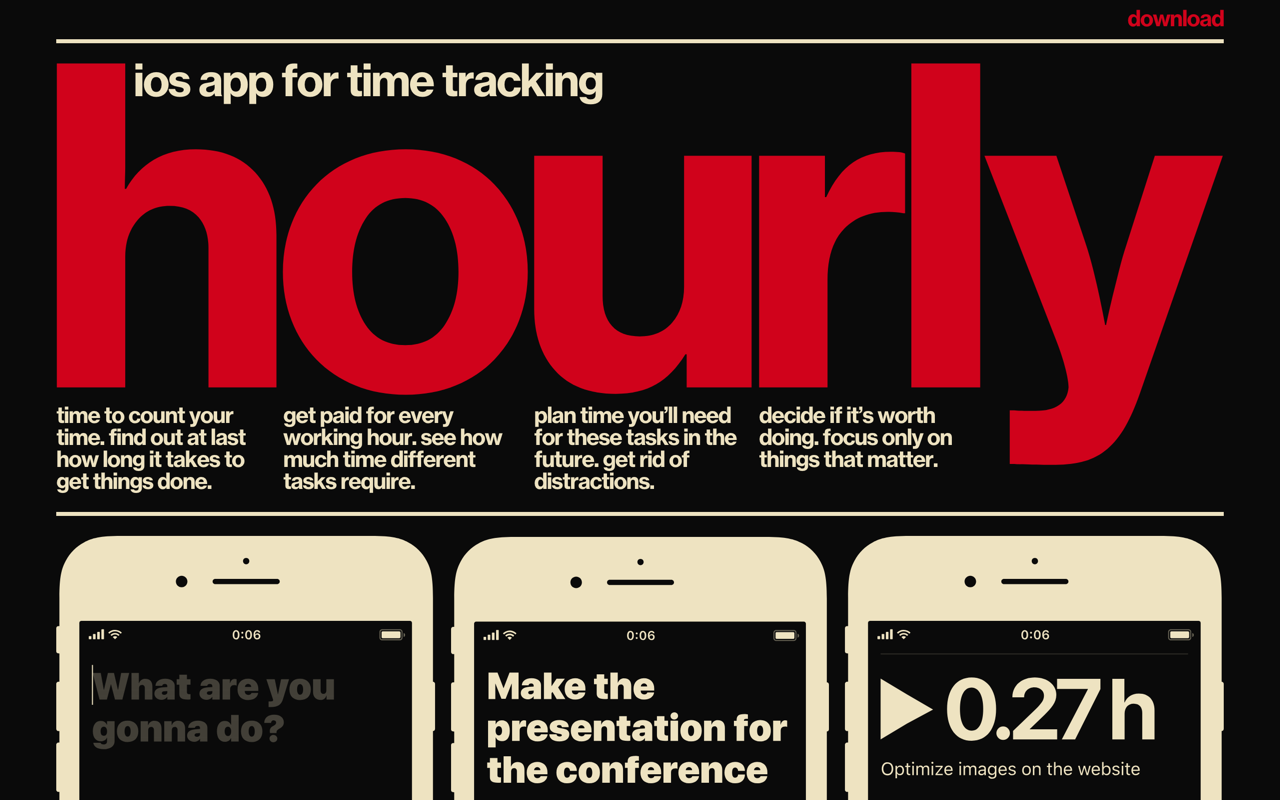 Hourly App Preview