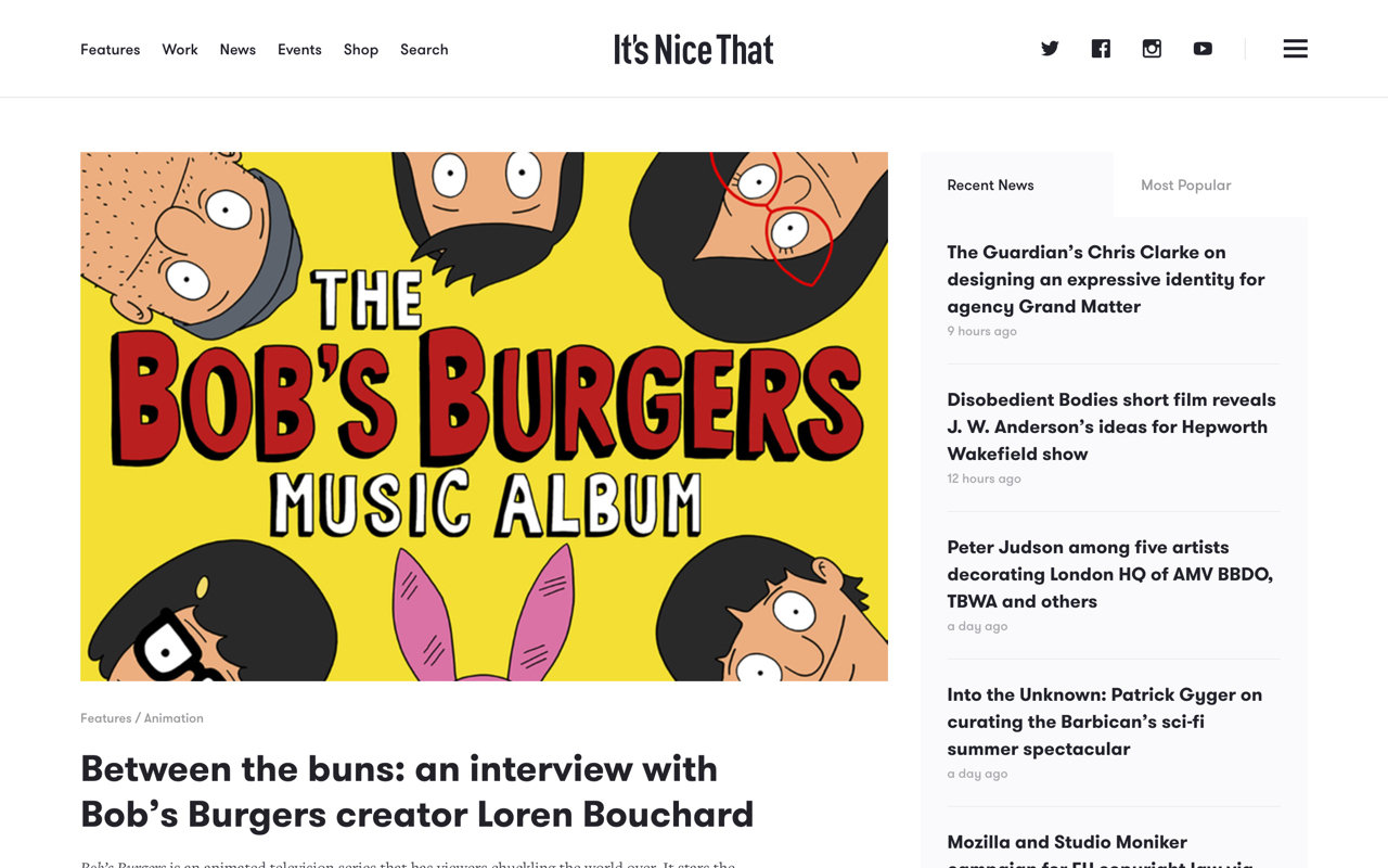 Itsnicethat Preview