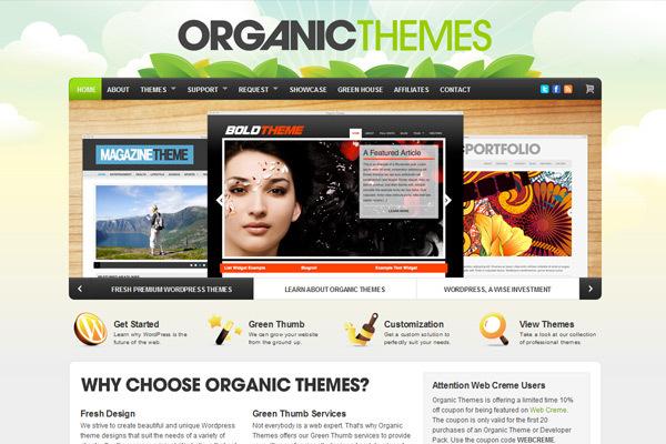 Organicthemes