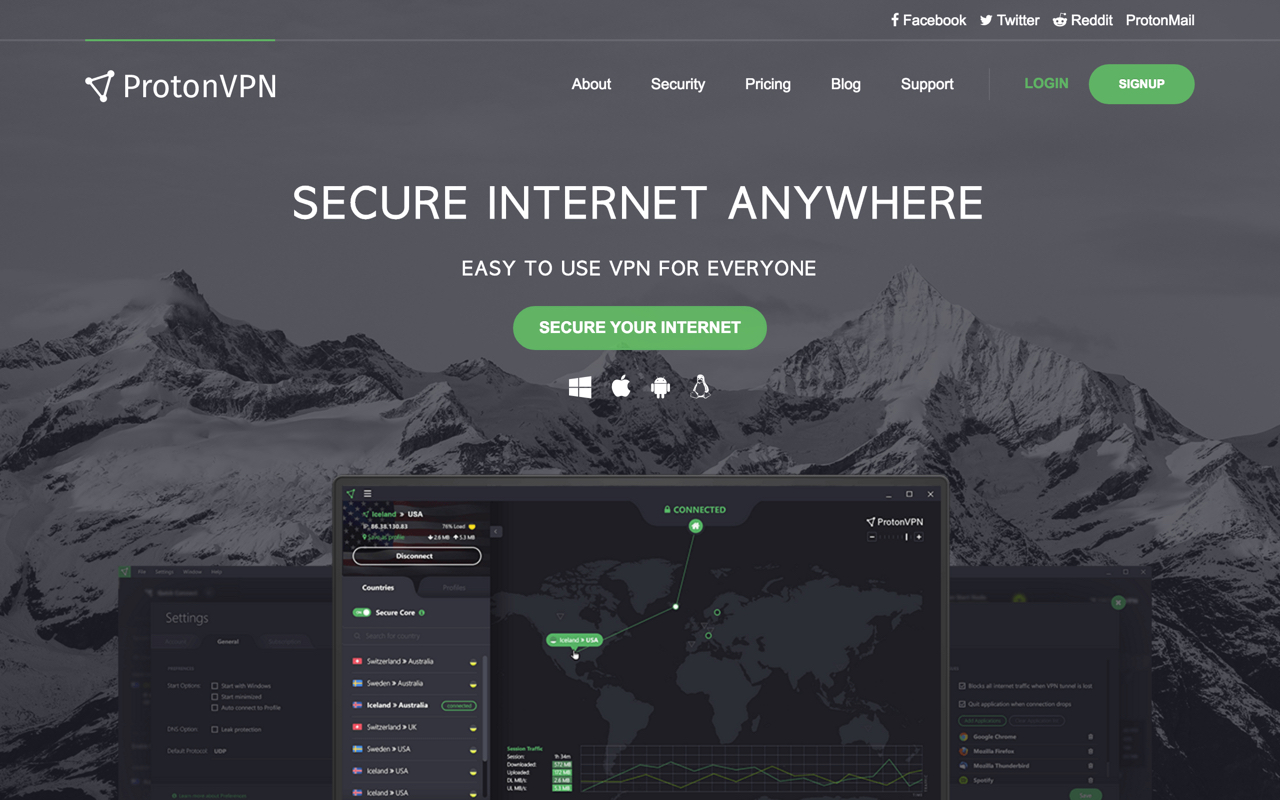 Protonvpn Preview