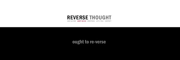 Reversethought