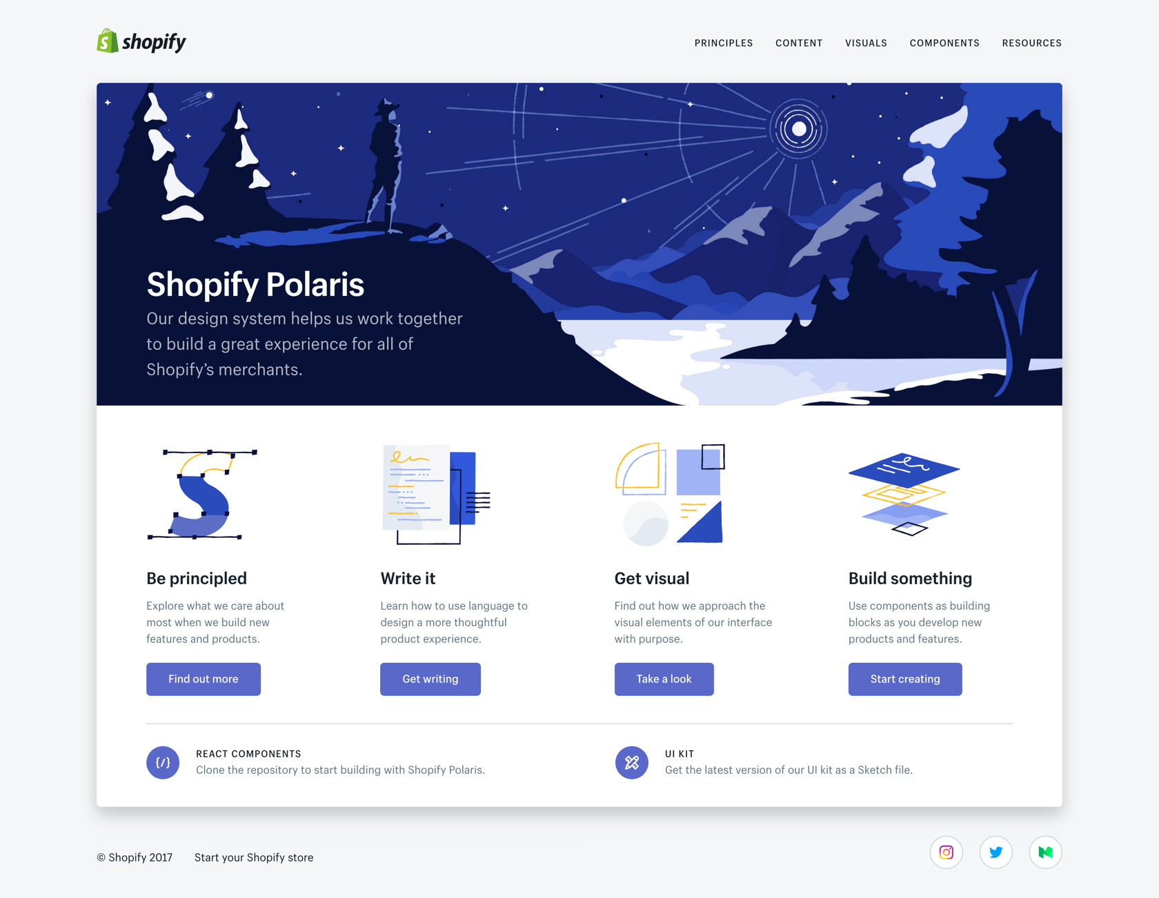 Shopify Polaris 01