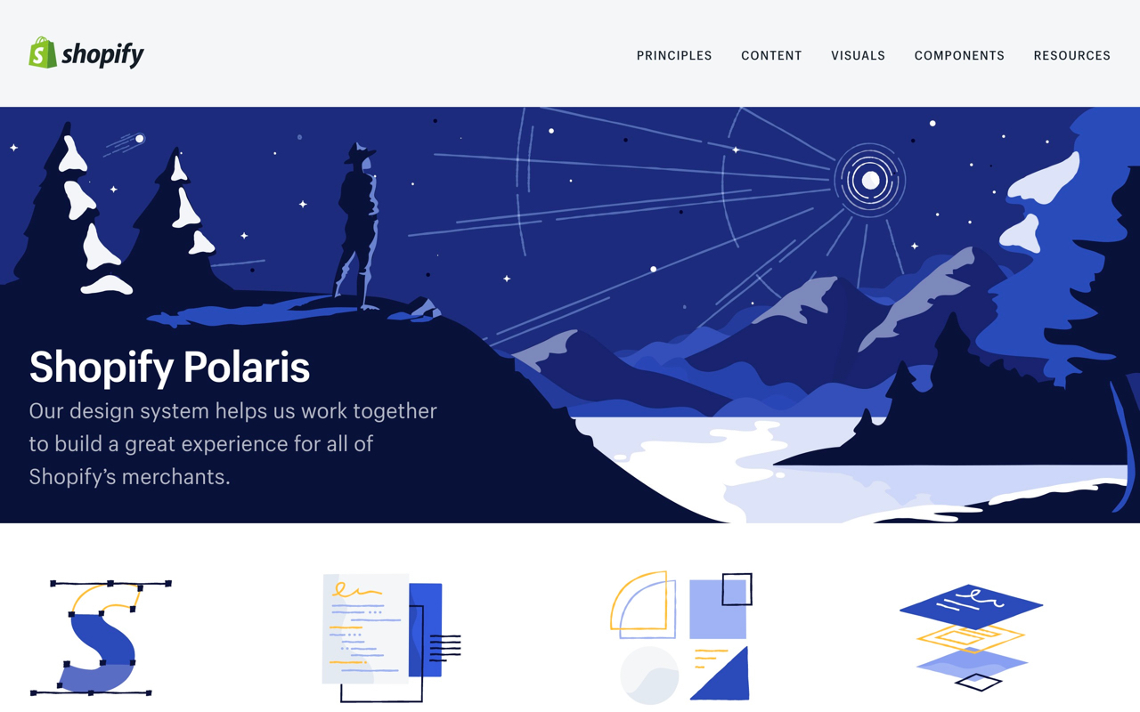 Shopify Polaris Preview
