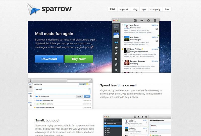 Sparrowmailapp