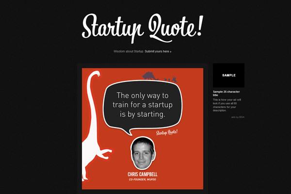 Startupquote