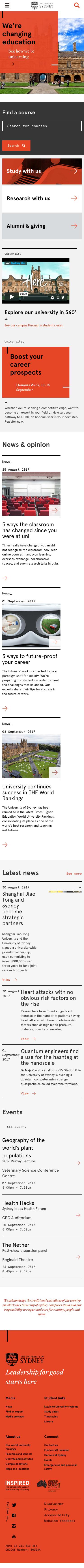 Sydney University 09