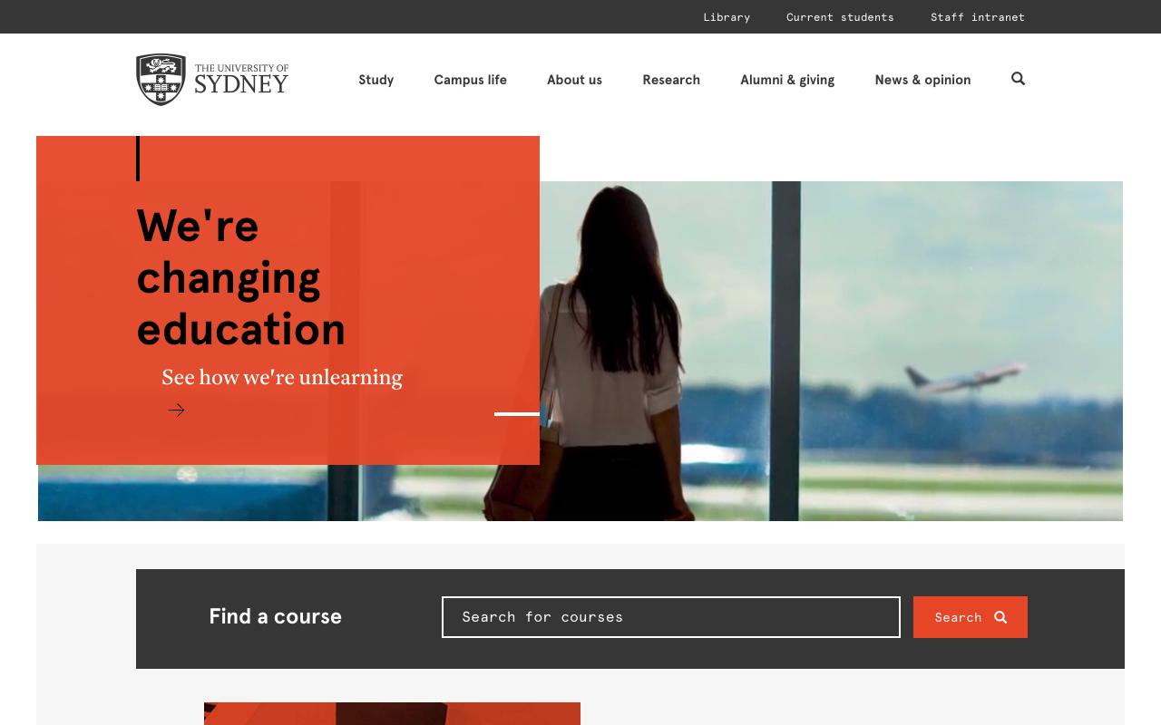 Sydney University Preview