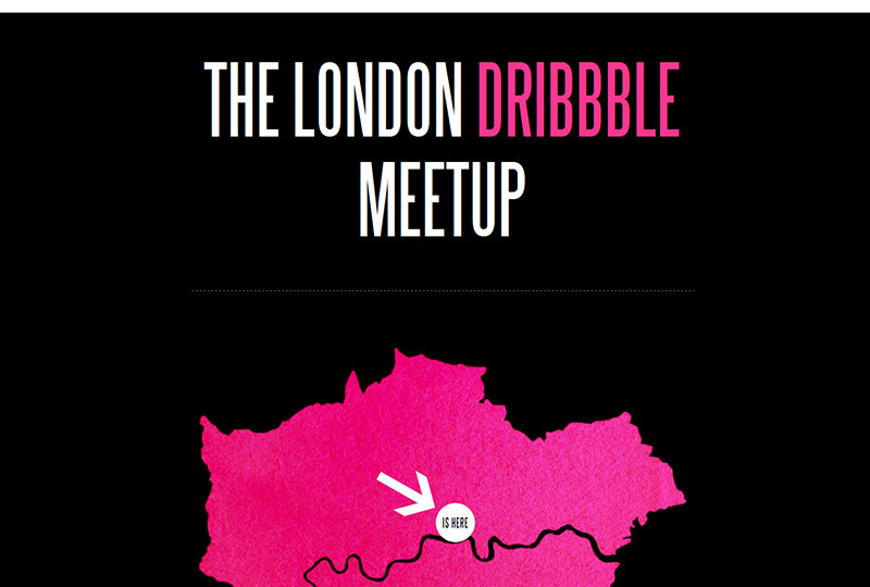 The London Dribbble Meetup
