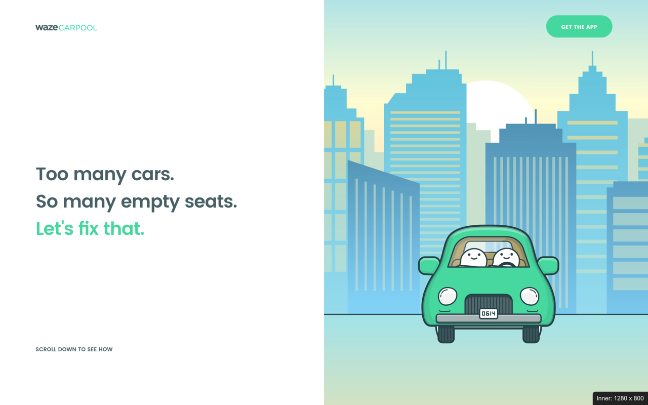 Waze Carpool Preview