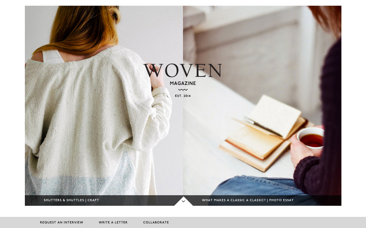 Wovenmagazine Preview