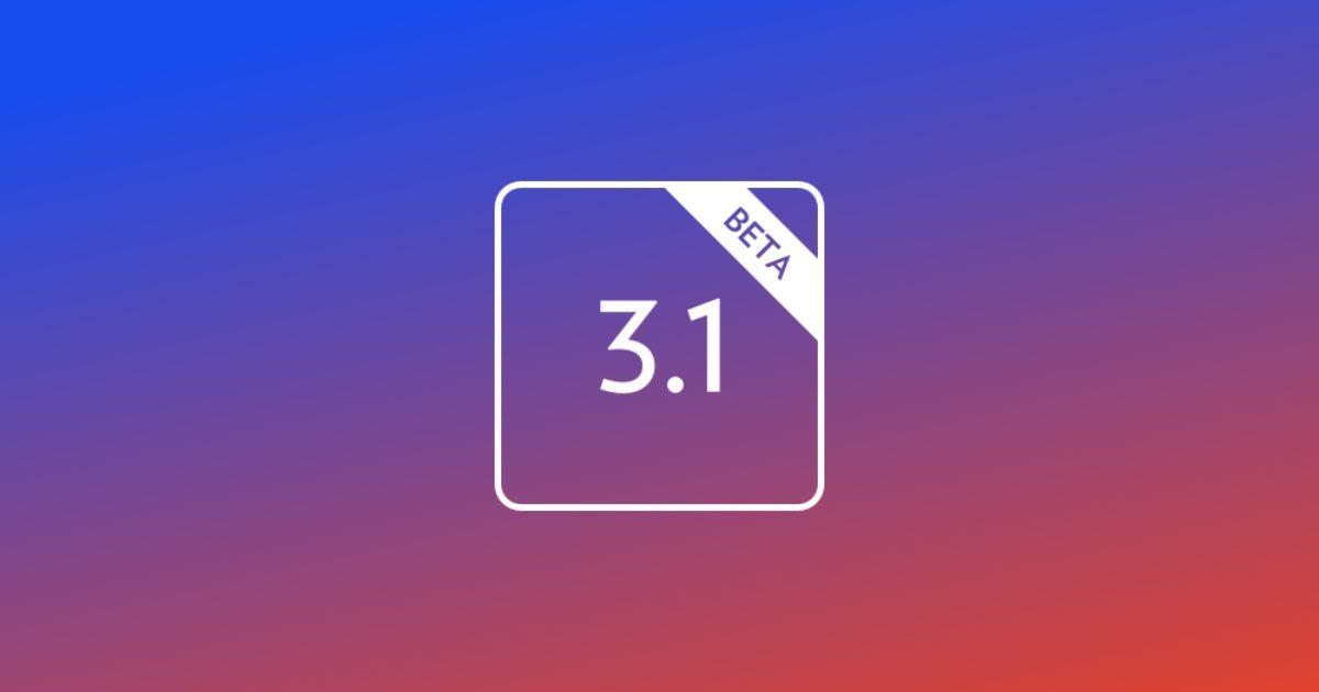 3 1 Beta