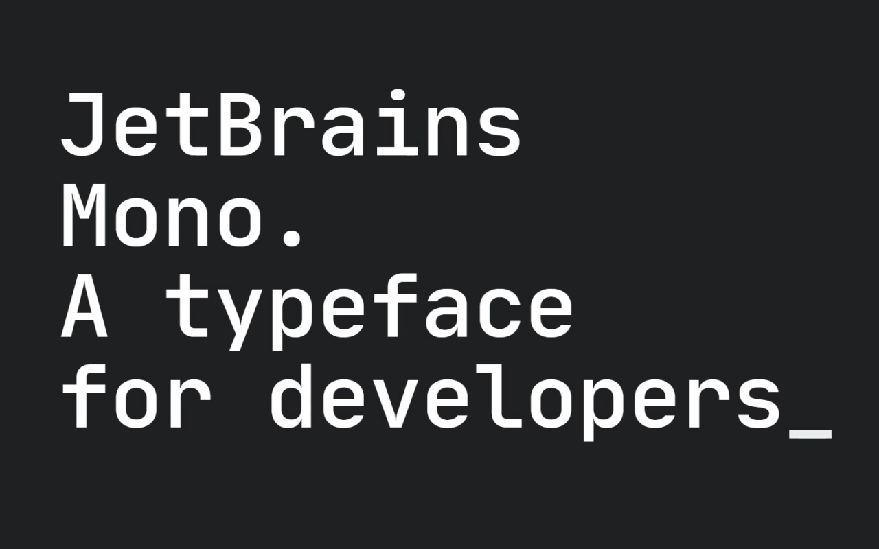 Jet Brains Mono Logo