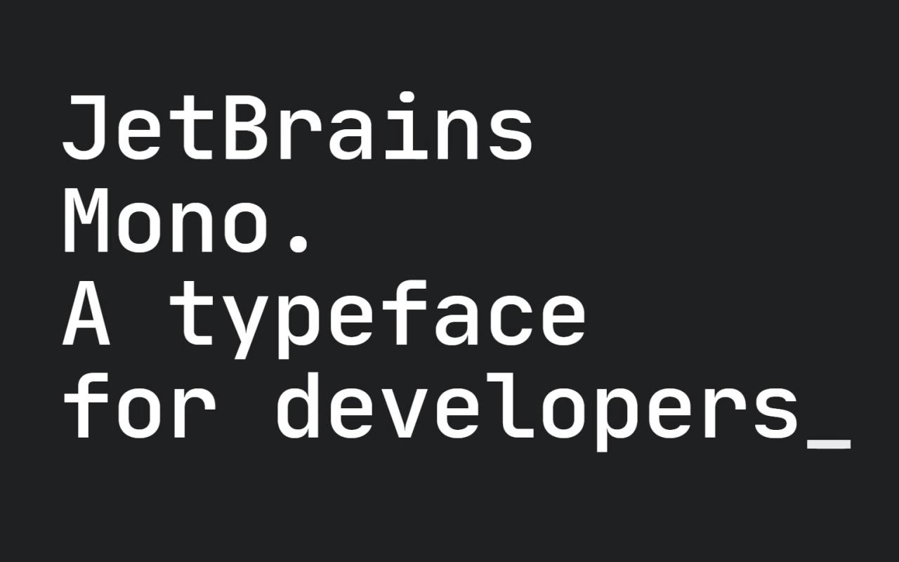 Jet Brains Mono Logo