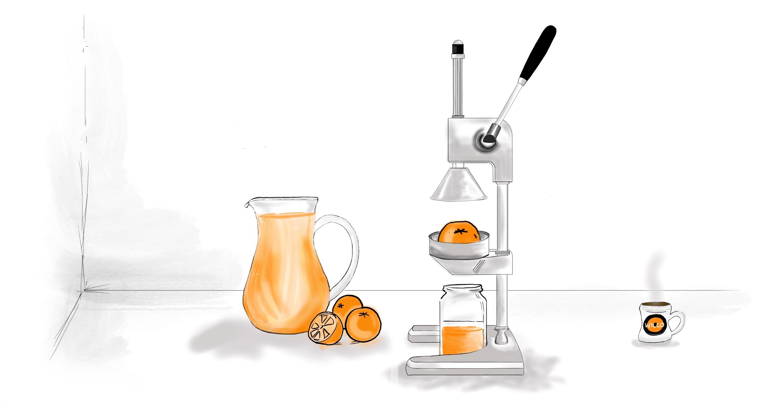 Orange Breakfast