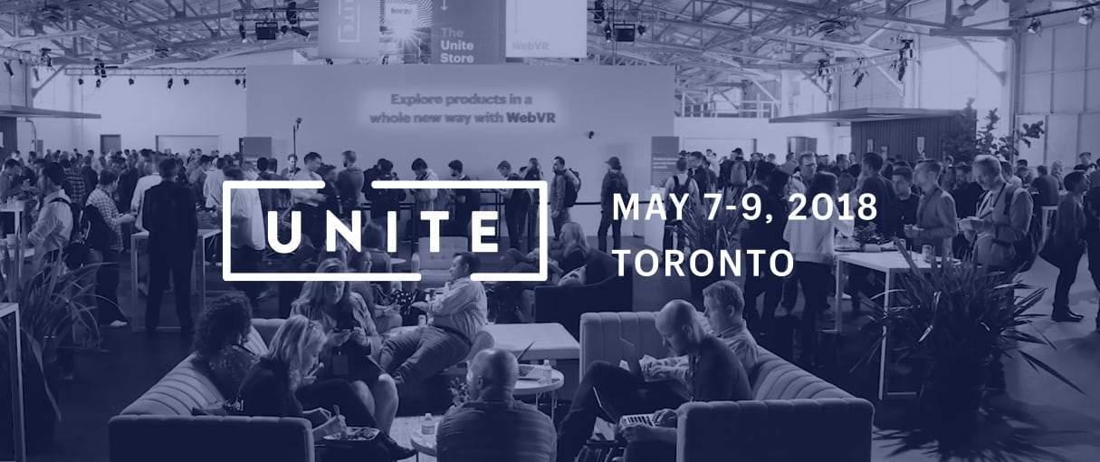 Announcing Unite 2018