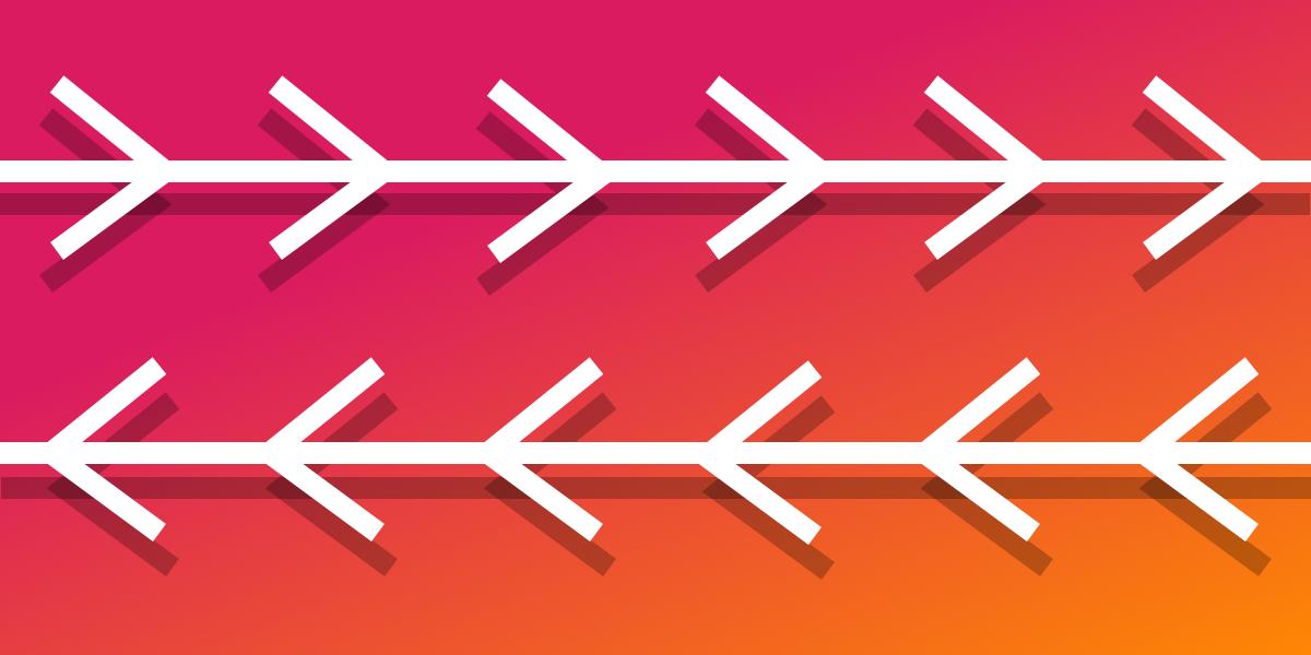 Arrow-pattern