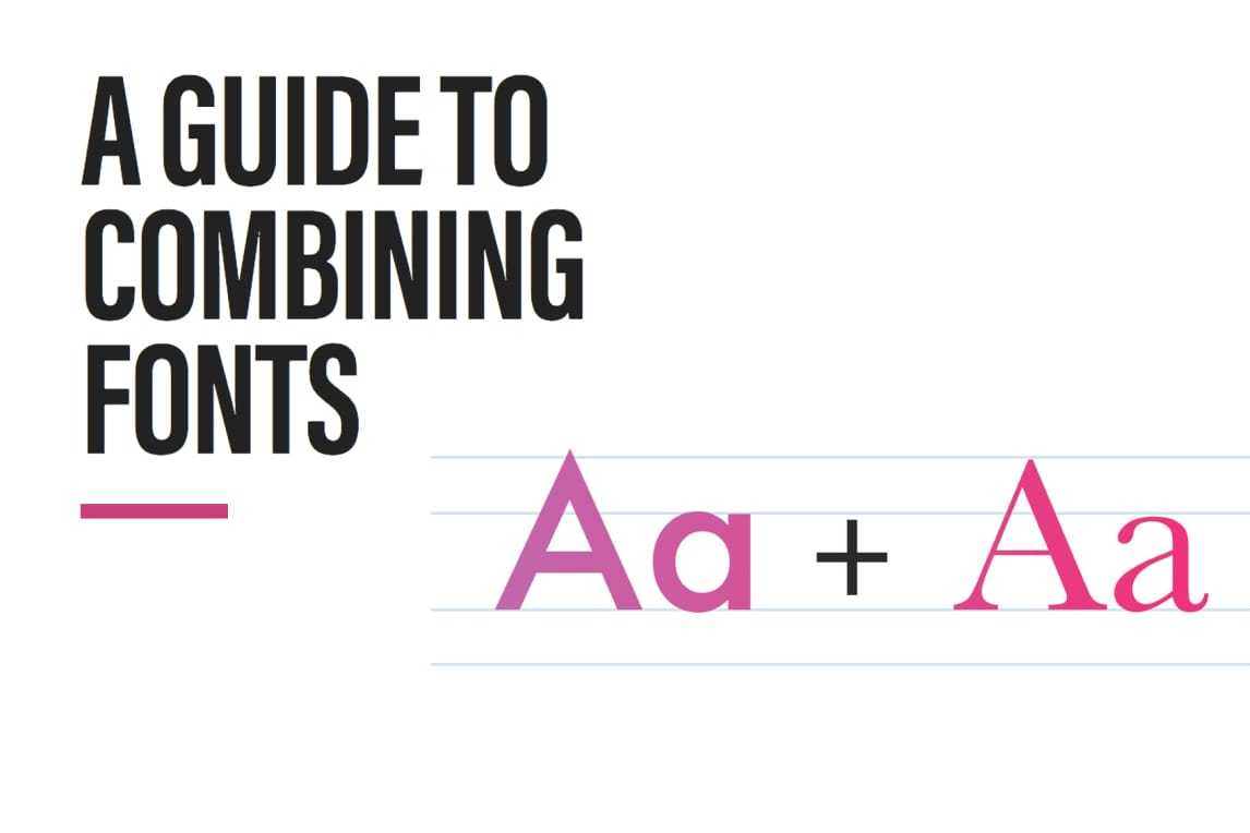 Bwt Combining Fonts Guide