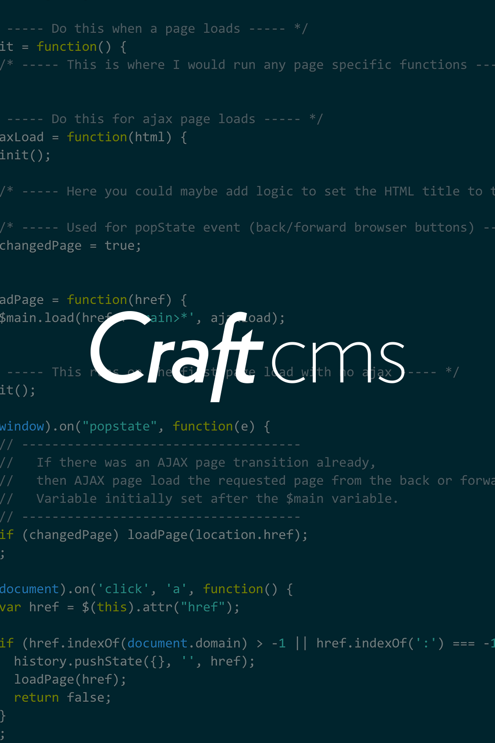 Cosmic | Craft CMS AJAX Page Transitions with… | Best Website Gallery