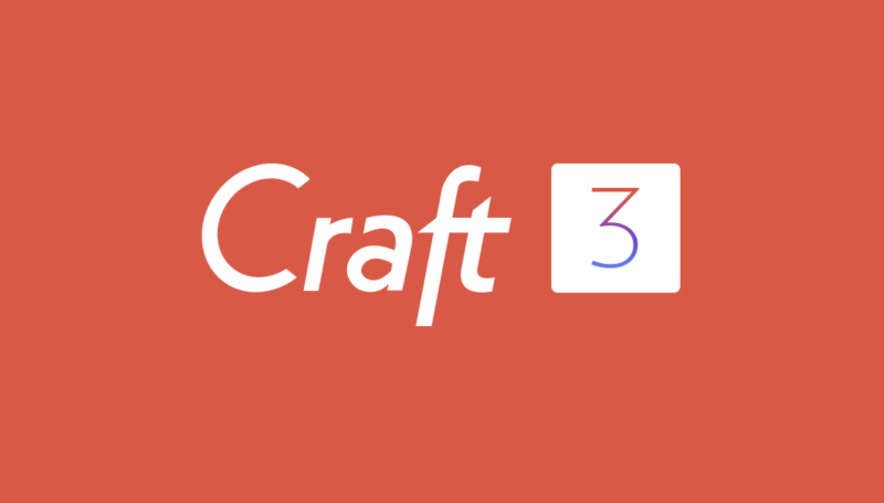 Craft 3 And You