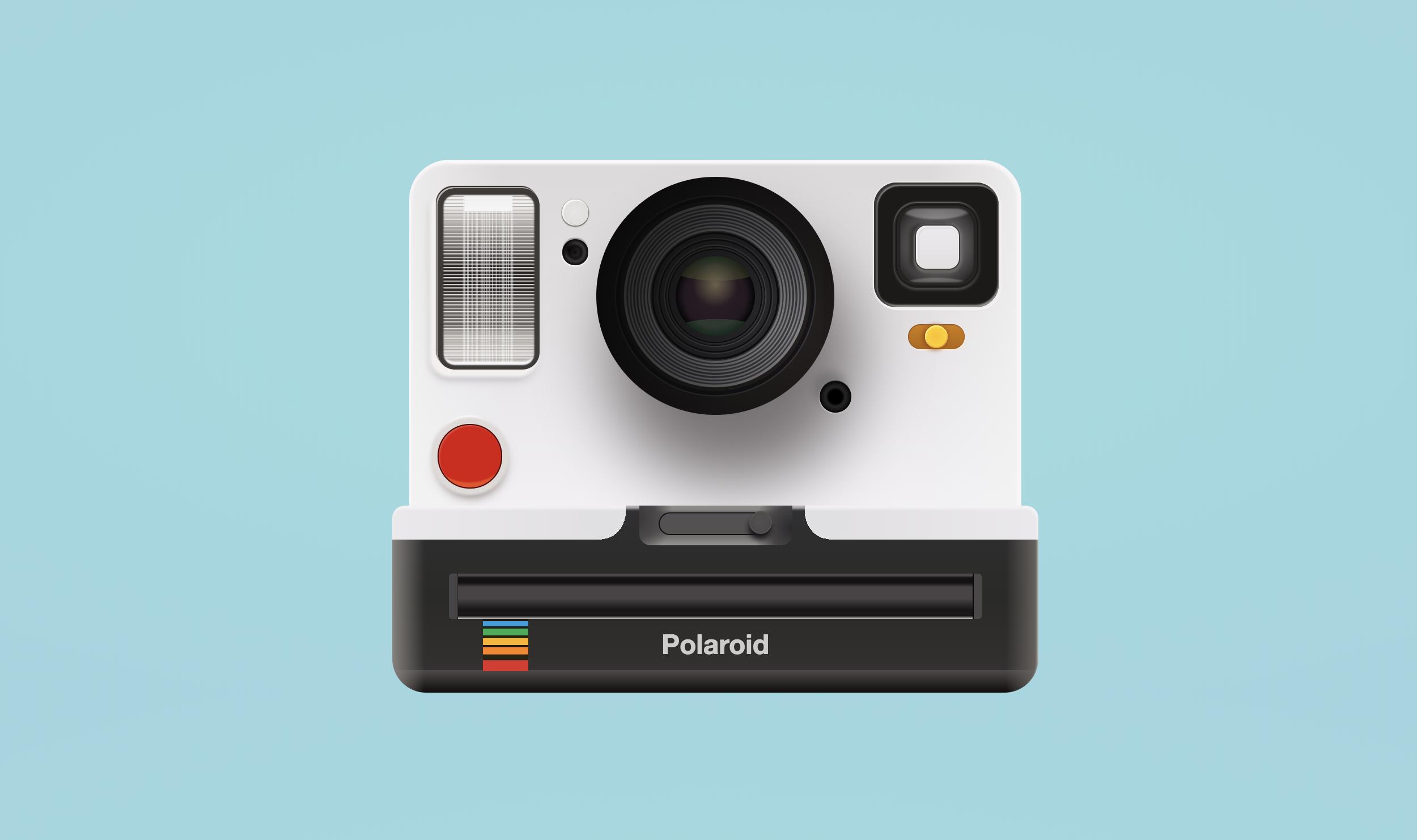 Css-polaroid-camera