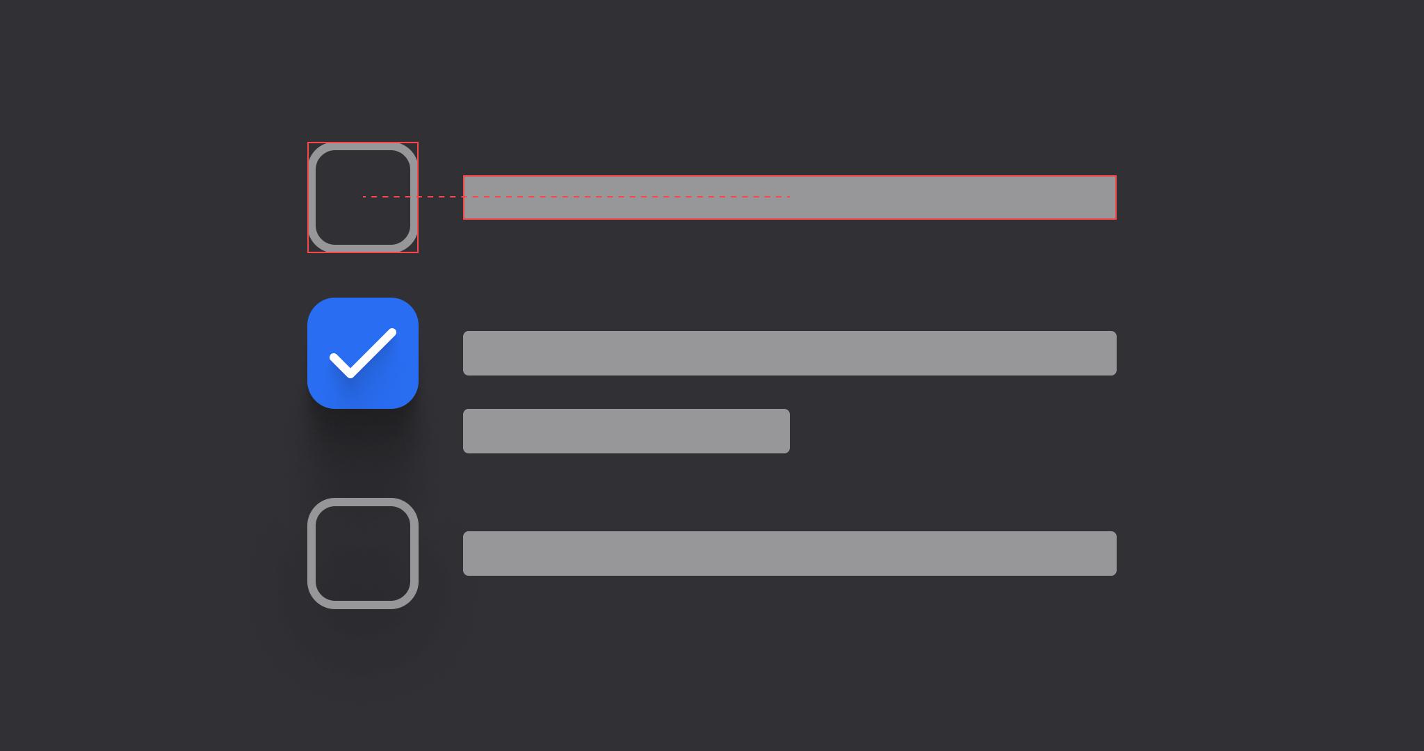 Custom radio checkbox buttons