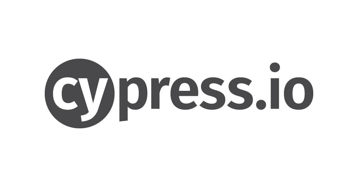 Cypress Io Logo Social Share