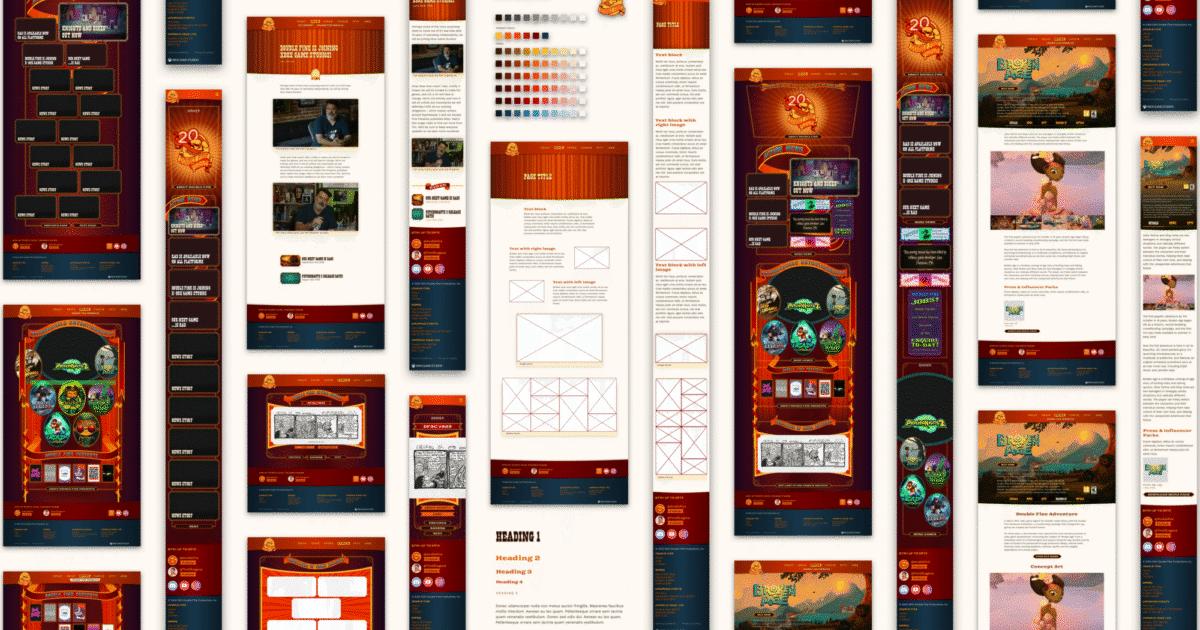 Doublefine com designs
