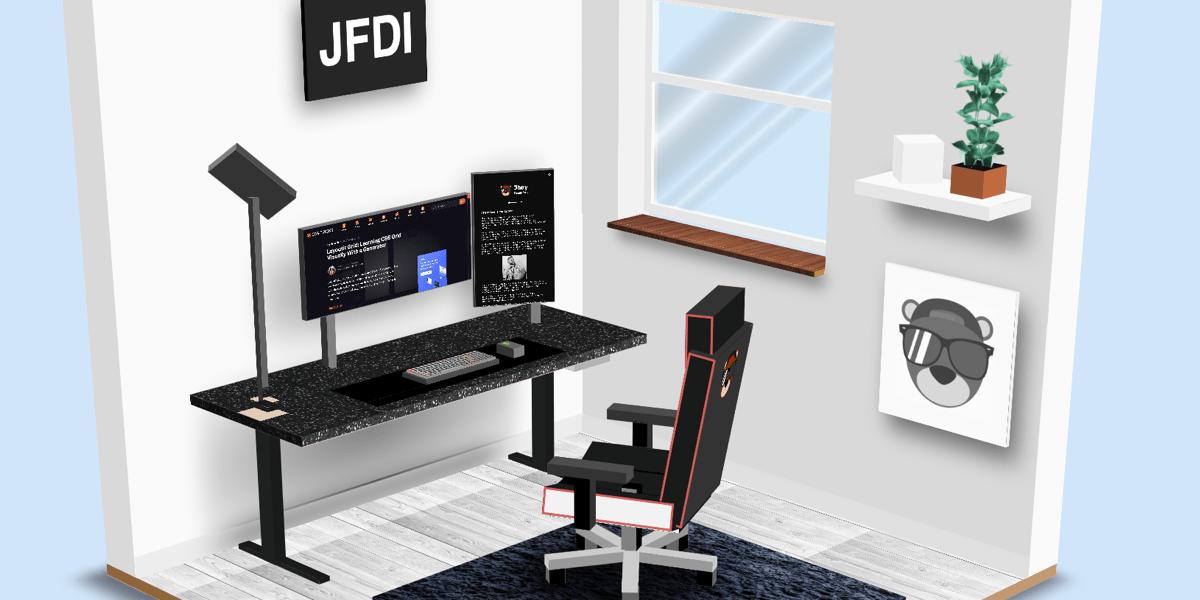 Jhey workspace