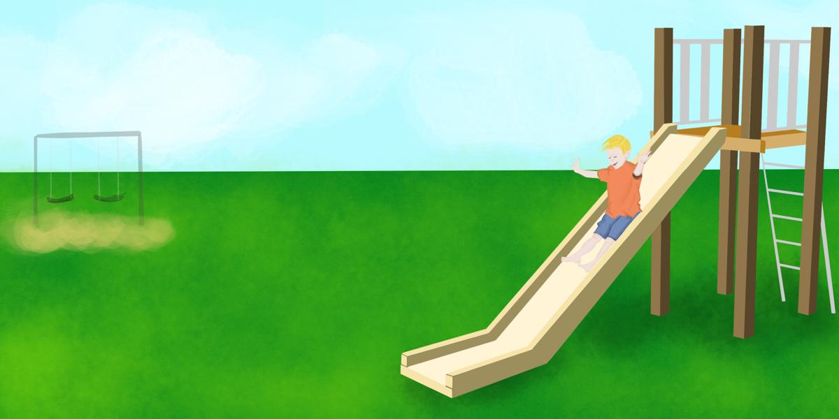 Kid Slide Playground