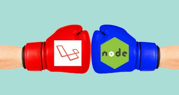 Laravel Beats Node