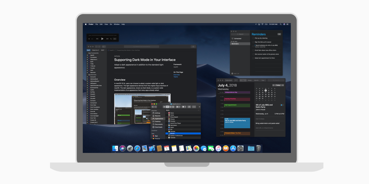 Mac Dark Mode