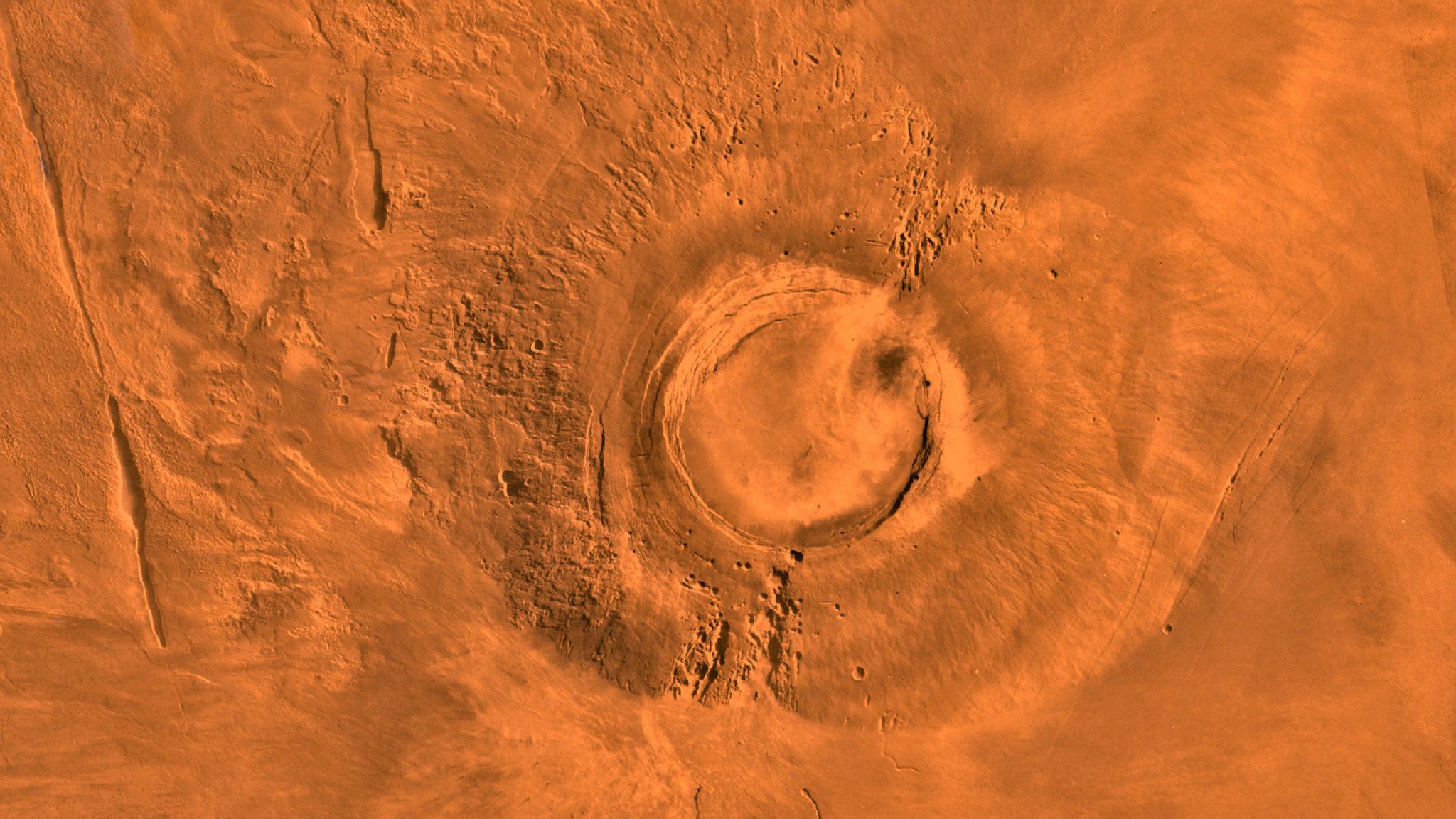 Nasa Mars Volcano