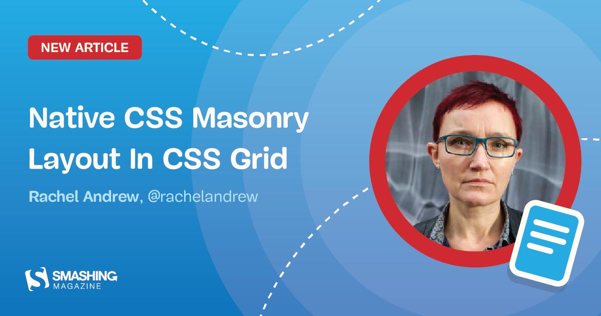 Native css masonry layout css grid