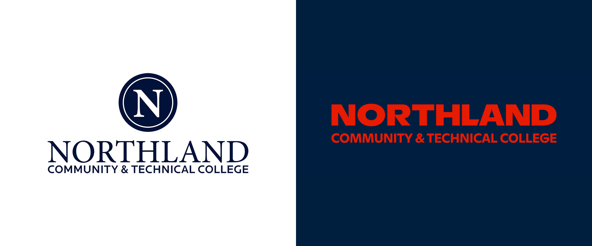 Northland_community_college_logo_before_after
