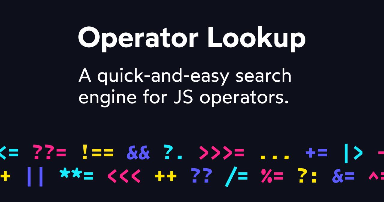 Og operator lookup