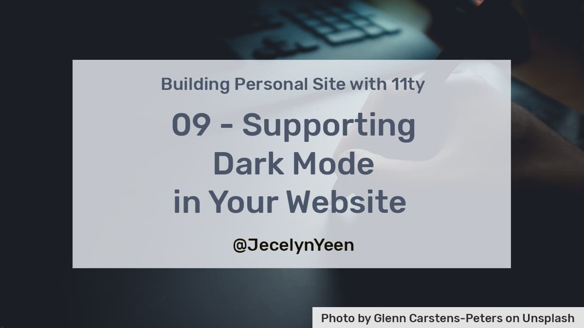 Supporting-dark-mode