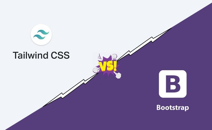 Tailwind-css-vs-bootstrap