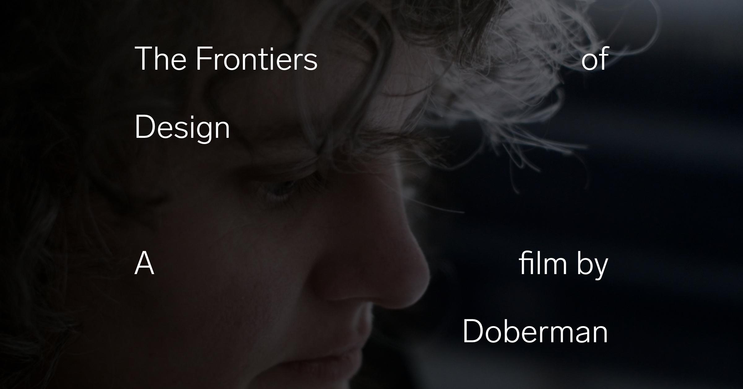Thefrontiersofdesign